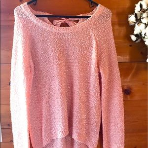 Women's Pink Cato Sweater Size L